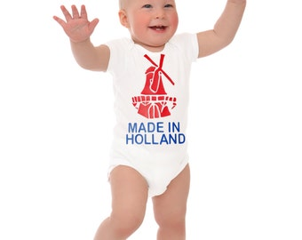 Baby onesie made in Holland