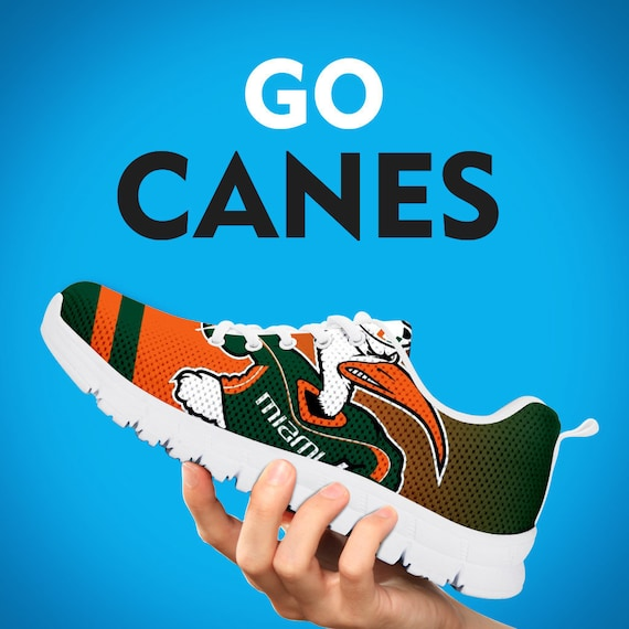 Miami Shoes Womens Running Sneakers Gift Custom Hurricanes Football Kids Gift Sizes Gift Mens Trainers Collector wxgwqrUT