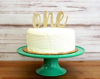 first birthday cake topper, one cake topper, gold cake topper, gold first birthday, birthday cake topper, first birthday, gold cake topper