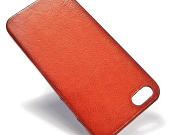 iPhone Italian Leather Case Classic or Washed or Aged for iPhone 6S or 6S PLUS or 5S 5C 4S to use as protection Choose the DEVICE and COLORS