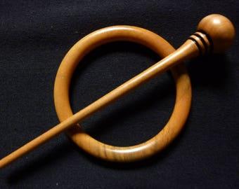 Dogwood Shawl Pin #6