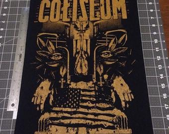 Coliseum back patch
