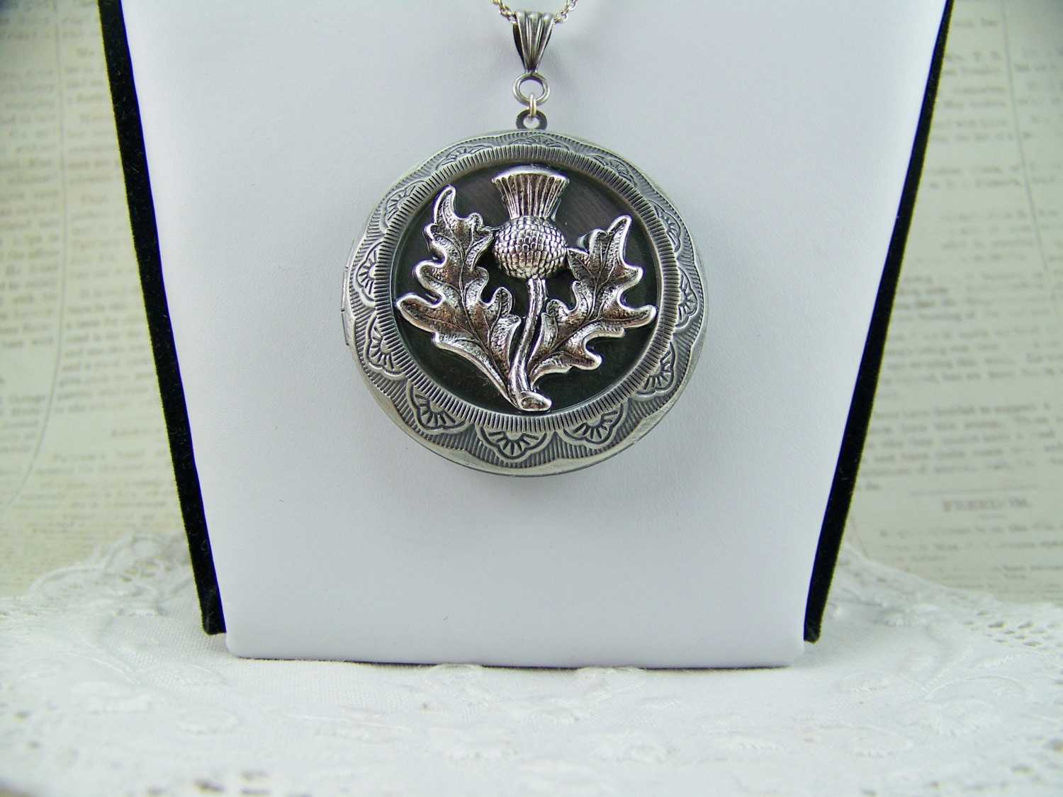 lockets sterling rectangular border product rhodium celtic plated silver locket