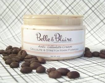 Anti-Cellulite Cream- Cellulite & Stretch Mark Formula- Plant Based- Vegan- 4oz