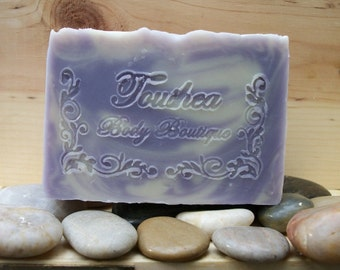 Lavender Soap, Natural Soap, Handmade Soap, Shea Butter Soap, Body Soap, Vegan Soap, Clary Sage, Essential Oils, Tranquility Meadow