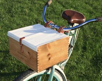 Bike Wine Crate Basket