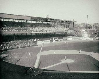 Yankee stadium etsy yankee stadium vintage photo new york yankees antique photograph old baseball stadium vintage yankees ny yankees malvernweather Image collections