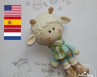 Crochet Spring Lamb - PDF pattern