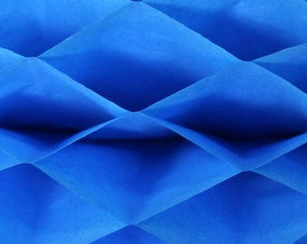 6-pack Turquoise Blue Honeycomb Paper Popup Craft Pad (7 inches X 9 inches each)