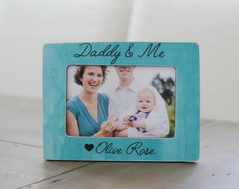 Personalized Gift for Dad, Dad Gift, Daddy and Me, Father Daughter, Father Son Picture Frame