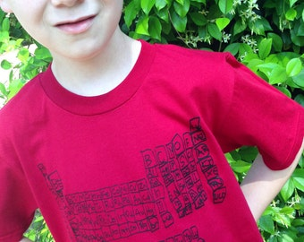Periodic Table Youth shirt