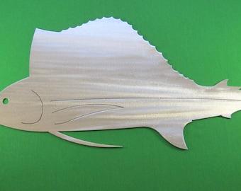 Metal Art Fish Replica & Silhouettes - Sailfish Replica Fish