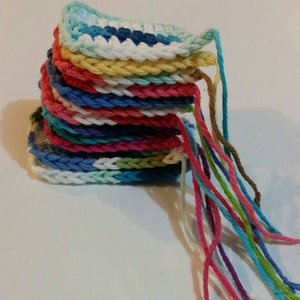 5 Reusable Crocheted Tampons