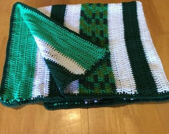 Crochet Green rug