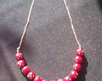 Necklace effect Diamond series Leila N 8
