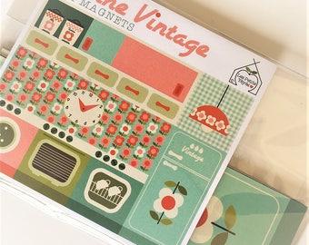 Vintage 7 Magnets kitchen