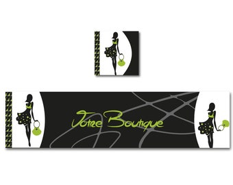 Banner shop Etsy banner fashion, fashion accessory, personalized banner