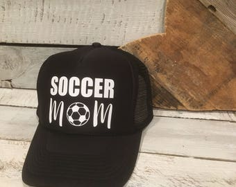Soccer Mom Hat, Soccer Mom Trucker Hat, Soccer Mom