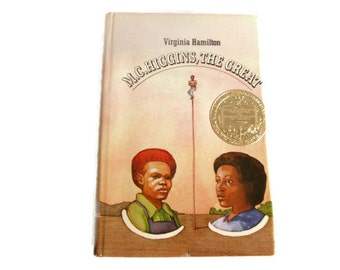 MC Higgins The Great, Virginia Hamilton 1974 Newbery Medal, Children's Book, Young Adult African American, Heroism Survival, Music Prodigy