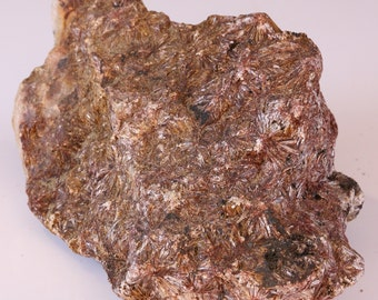 Lovely Copper Stellate Pyrophyllite Crystals On Matrix