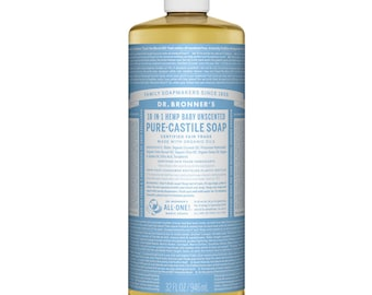 Dr. Bronner's Pure - Castile Liquid Soap, 946ml
