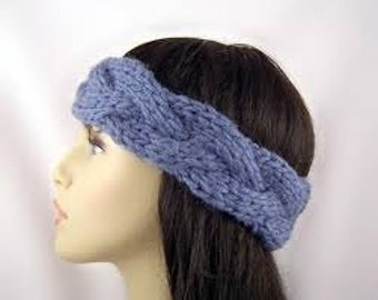Braided Crochet Earwarmer Braided Crochet Headband Custom