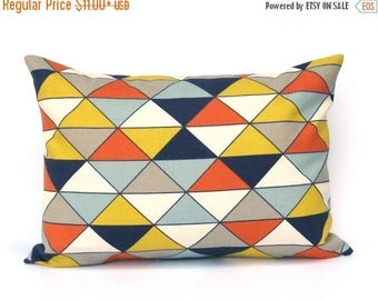 15% Off Sale Decorative Pillows Gray Yellow Pillow Mid Century Modern Fall Couch Pillows Pillows Mustard Yellow Toss Pillow Sofa Pillow Cush