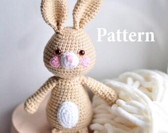 Easy Amigurumi Pdf : Amigurumi crochet pattern easter bunny crochet rabbit