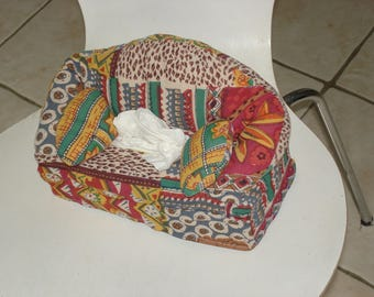 Cover for sofa shaped tissue box