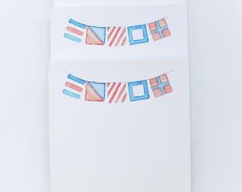 Nautical Signal Flags Illustrated Notepad
