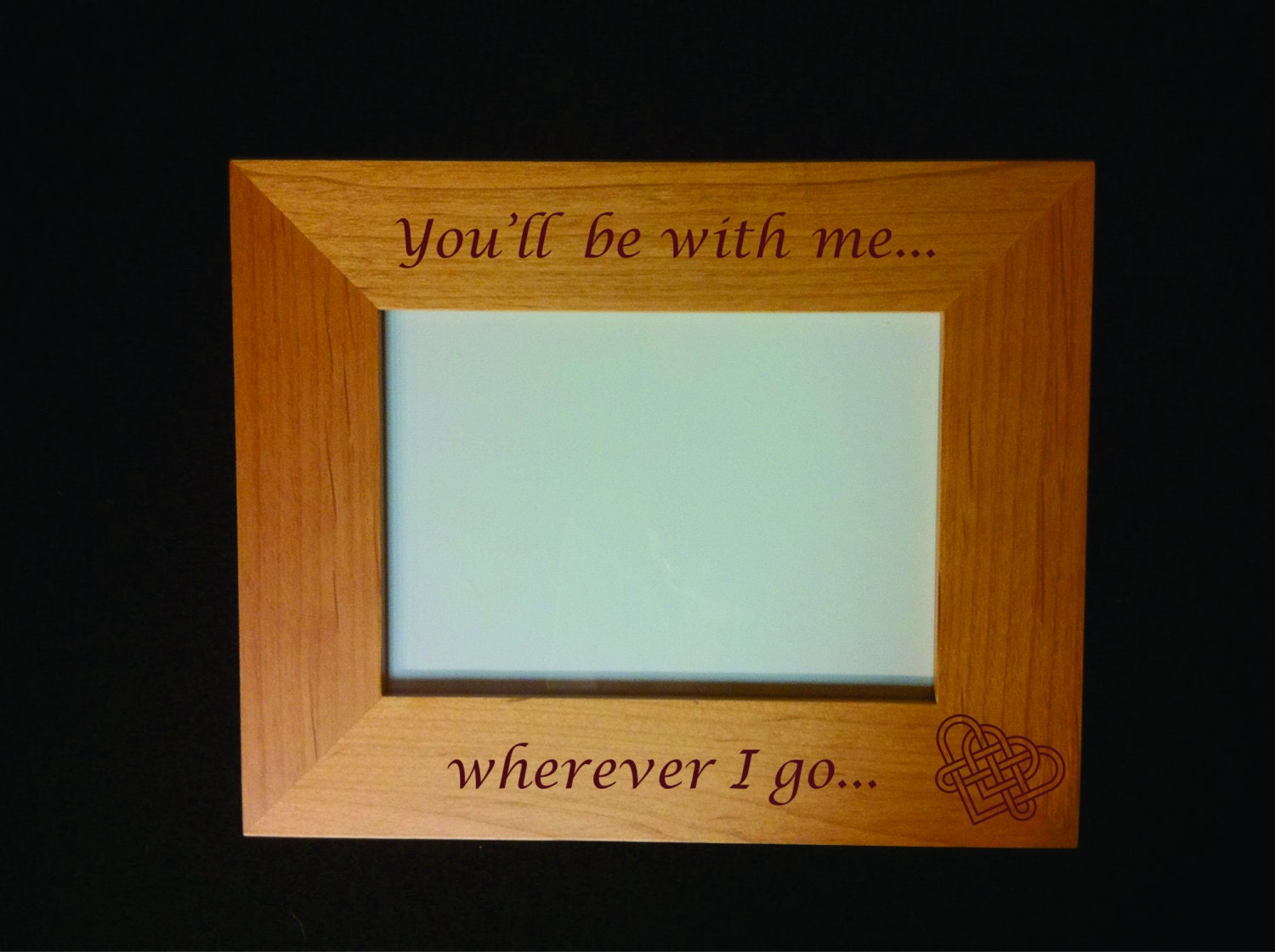 Personalized Memorial Frame with Actual Handwriting Option