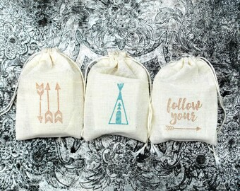 Baby Shower Favors, 50 Soap Favors, Teepee Baby Shower, Teepee Favors, Tribal Baby Shower, Tribal Favors, Camping Favors, Arrow Baby Shower