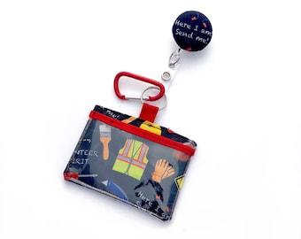 Badge/ID Holder & Retractable Lanyard