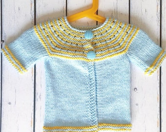 Blue Yellow Toddler Sweater, Gifts For Baby Girls, Gifts For Baby Boys, Unisex Baby, Baby Sweater, Baby Clothes, Newborn Gifts, Baby Gifts