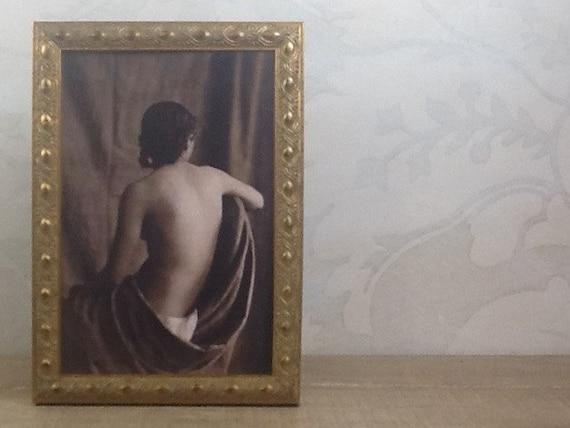 Vintage Gold Picture Frames - 4x6, 5x7, 8x8, 8x10, 10x10 Photo Frame ...