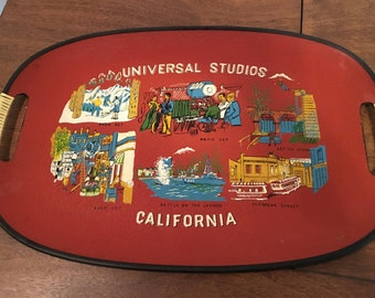 Vintage Universal Studios Souvenir Serving Tray