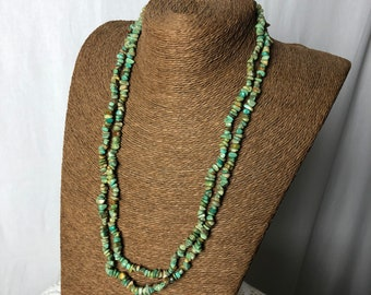 Vintage Desert Rose Trading Co. Turquoise Bead long necklace