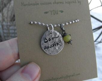 Be Amazing Necklace