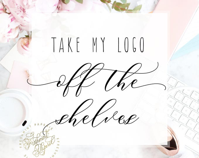 Take this logo 'OFF THE SHELVES' - freshmint paperie