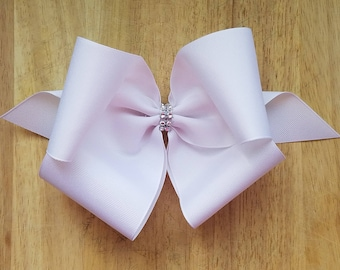 XL White Hair Bows