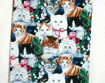 Pillow case, Kittens theme, standard pillow, pillow covers,handmade pillow cases,bed pillow casebedroom decoration