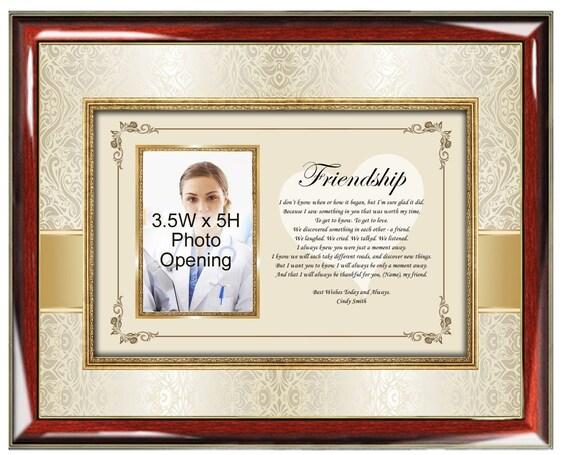 Poesía amistad foto marco personalizado foto marcos mejores