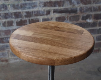 Unfinished Oak Stool Tops