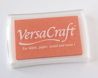 Apricot, Ink pad, Rubber Stamp Ink, Tsukineko, Fabric Ink, Textile stamp, Textile Supply, Pigment Ink Pad