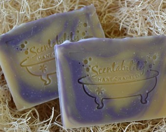 Lilac Scent, Goat's Milk Soap with Silk