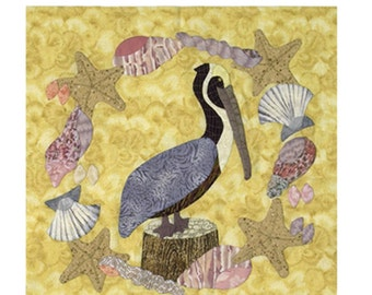 Pelican Coast Applique quilt pattern
