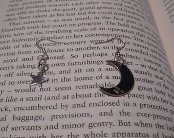 Star and Crescent Moon Mismatched Earrings