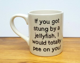 Sale Reduced Ceramic Funny Mug Friends Gift Best Friend Mug Friends Mug