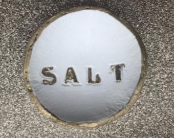 Hand made salt dish