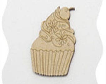 greed cup cake cherry wood poplar